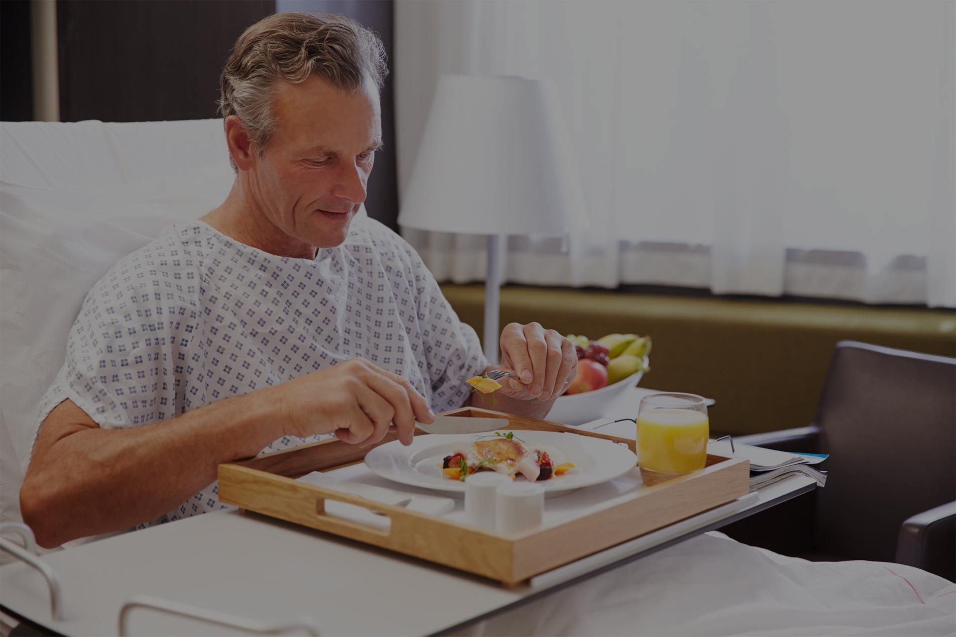 Usługi żywienia w służbie zdrowia